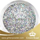 silver glitter car paint
