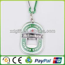2014 promotion custom metal bottle opener keychain (XD-5336)