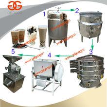 Tapioca Pearl Making Machine|Tapioca Pearl Production Line|Automatic Black Tapioca Pearl Making Machine
