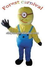 TF-2199-B New popular despicable me minion mascot costume