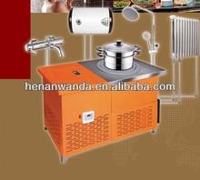 Multifonctionnel la biomasse pellets cuisinière du réchauffement et chauffage au sol