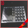 quail eggs blister tray / 20 hole quail egg tray / clear plastic quail eggs packing tray