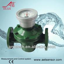 Shanghai anjun lc a membrana greggio olio densimetro, ovale ingranaggi livello carburante con alta precisione