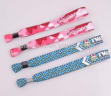 Fantastic charm bracelets useful custom festival magnetic fabric bracelet