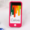 Colorful For iPhone5 Silicon Case, mobile silicon rubber case For iPhone5 5S
