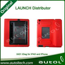 2014 100% Original Launch X431 iDiag Diag Scanner for IPAD/iPhone X-431 AutoDiag intelligent Diagnosis Update Online