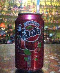 Fanta--- Strawberry.. 355 ml US