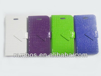 Smart Flip Stand Folding Leather Phone Case for iPhone 5 5S
