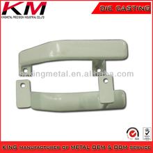 powder coated casted aluminum handles