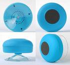Waterproof suction cup bluetooth speaker