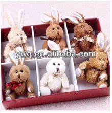 Birthday present Lovely teddy bear /mini teddy bear for 2014
