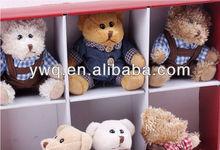 Funny Birthday present cute teddy bear /mini rabbit for 2014