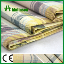 Printed T/C Woven 80% Polyester 20% Cotton Twill Check And Stripe Fabric