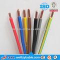 pvc fil électrique isolé code couleur