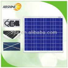 New energy 50w price per watt solar panel