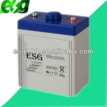 2V100AH Portable radio transmitter battery work