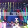 LUV-LVC406 4m*6m LED video curtain for DJ lighting/nightclub/bar/disco/event