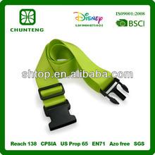 satin/nylon/polyester personalized luggage strap