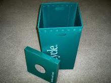 Corrugated Plastic Recycle Bin/Trash Bin/Waste Bin Manufacturer