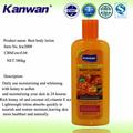 380ml profesional de cuidado de la piel coreano mejor loción para el cuerpo