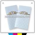 Venta al por mayor en blanco tarjetas de felicitación tarjetas de invitación de la boda sobres
