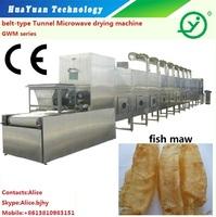 Microwave fish maw roasting drying dryer machine