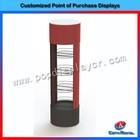 4 layer metal shelves rack, metal wire shelves rack, circle metal wire shelves rack