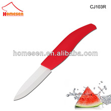 New Stylish super sharp ceramic knife / red ceramic knife set / ceramic fishing knife