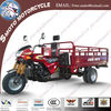 Cargo three wheeler 250cc water cooling motor tricycle