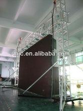 P10 hanging design for rental led display