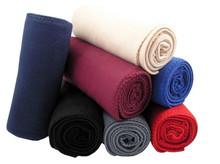 """Solid Pink/Blue/Gray/Orange/Red Polar Fleece 50"""" x 60"""" Throw Blanket/Bedsheet"""