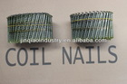 Wire Collated Coil Nails, Diamond Point, Pregos, Clavos,Sprial Shank