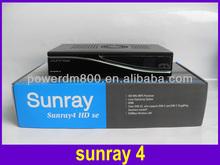 best hd satellite receiver satellite internet wifi 300M Sunray4 hd se sim210 or sim A8P