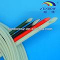 de fibra de vidrio recubierto de manga resistencia eléctrica de silicona