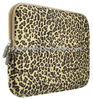 Leopard's Spots Canvas Fabric laptop notebook case bags carry leopard laptop cover