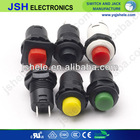 DS-225/226 12VDC~250VAC blue small OFF-(ON) 1A 12.5mm push button switch for machine