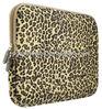 Leopard's Spots Canvas Fabric laptop notebook case bags 11-11.6 Inches leopard laptop cover