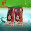 Hot!!! Profissional do cabelo natureza cor verde-oliva rico