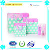 2014 New Azure Paper with Polka Dots Shopping/Gift Packaging Bag
