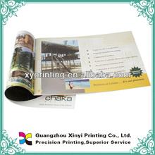 2012 High Quality fashion magazine printing