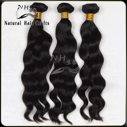 natural hair products grade 7A 2014 top selling peruvian wavy hair
