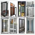 atacado tamanho padrão de alumínio portas e janelas