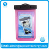 Universal Waterproof Bag Case for Cell Phone / PDA- Hot Pink