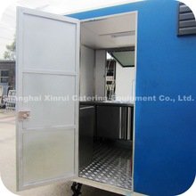 2014 Brand New Mobile Yogurt Kiosk with Frozen Yogurt Machines for Beverage Sale XR-FV450 C