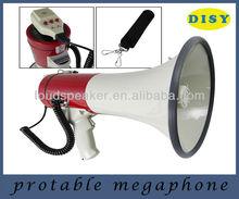 Professionnelle Piezo dynamique mégaphone avec fonction d'enregistrement et Rechageable Batteries