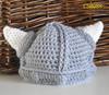 Baby Viking Helmet with Horns