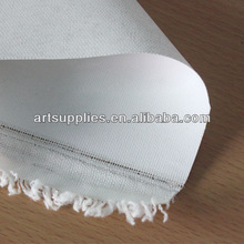 For painters 225gsm T5136 acid-free primed 68.5''/173cm coat width smooth texture polyester canvas fabric painting