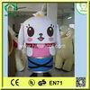 HI CE High quality top sale cartoon dog mascot costume for adults