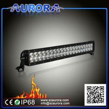 Hotsell high quality AURORA 20inch light bar, qiye atv parts