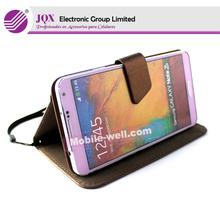 Cellphone case for Samsung Galaxy Note 3 flip case